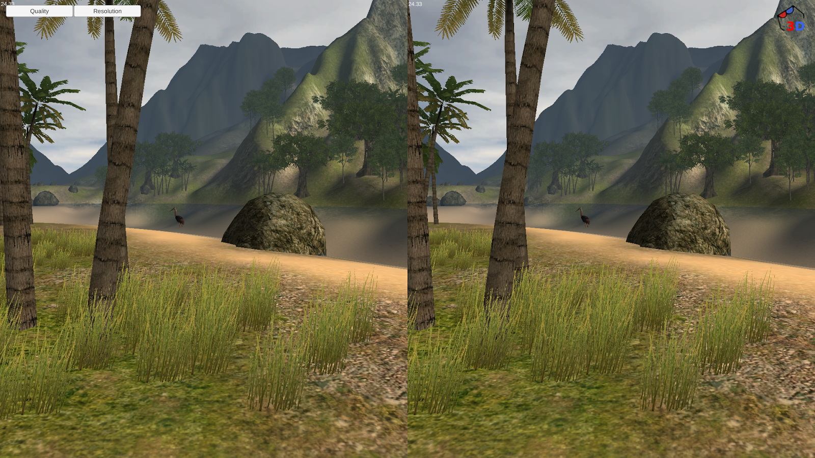 3D Island Demo- screenshot
