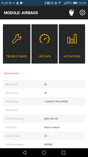 OBD JScan v09.09.2020.10:55 Screenshots 3
