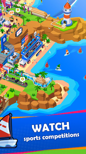 Sports City Tycoon - Idle Sports Games Simulator modavailable screenshots 4