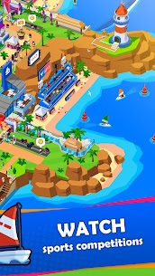 Sports City Tycoon MOD APK [Unlimited Money] Idle Sports Games Simulator 1.5.0 4