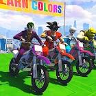 Super Heroes Bike Stunts Mania icon