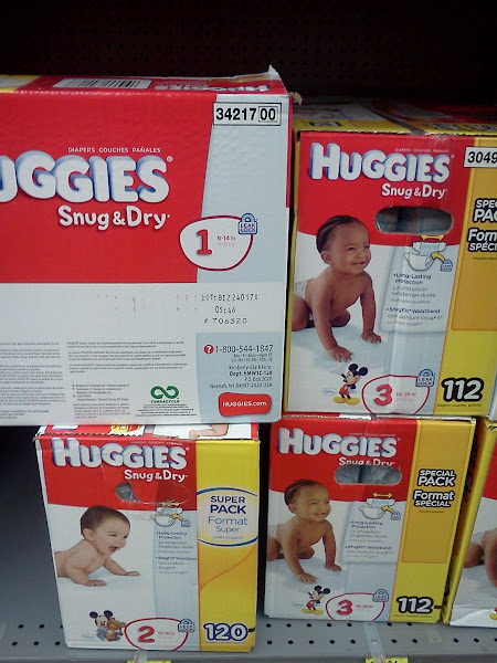 Photo: Huggies are my favorite brand of diapers! First up...they are sooooo cute! They are great at keeping babies dry & clean. That helps reduce diaper rash. I always recommend Huggies to my sisters & friends. :)