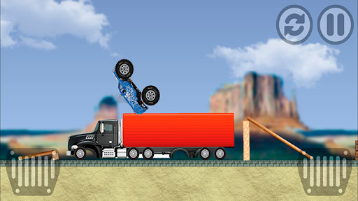 Monster Pickup Truck the monster jam kids games 7.8 screenshots 4