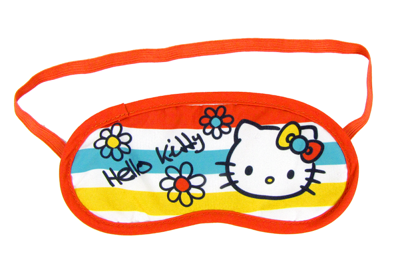 Photo: Hello Kitty Adult Sleep Mask: Bright Colors - $7.95 http://bit.ly/Iqro2V