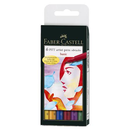 PITT Artist Brush set 6 x Basic