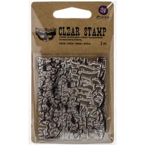 Prima Finnabair Clear Stamp 2.5X3 - Crackle
