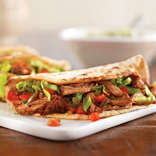 Pulled Pork Soft Tacos.
