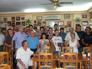 Photo: Torneo del Jamón 2011. Foto de familia con el ganador Salva Castell