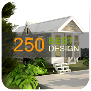 250 tiny house design - náhled