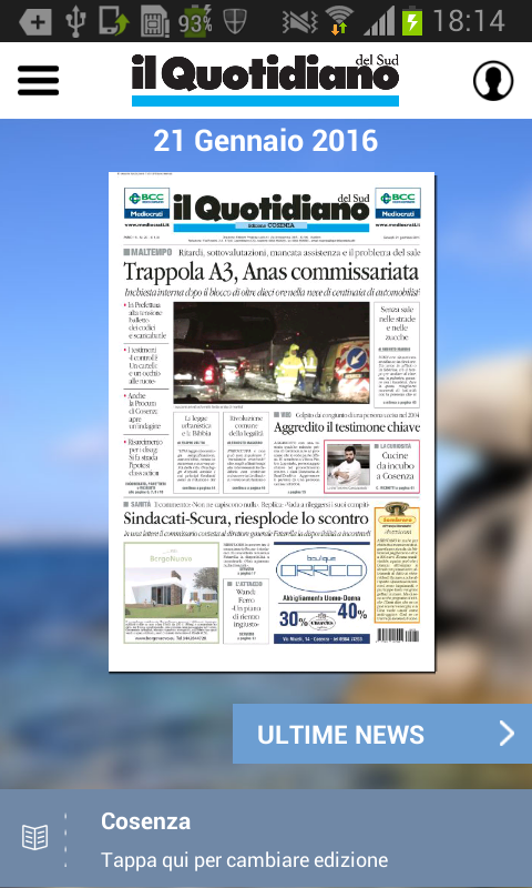 Il Quotidiano del Sud- screenshot
