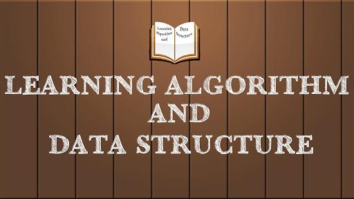 ALGORITHM DATA STRUCTURE