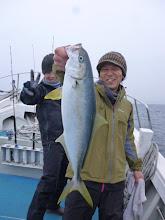 Photo: ヒラスキャッチ!後ろでヤケクソのニシゾノさん。