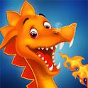 Angry Dragon Land Story - Animal Fantasy War Game icon