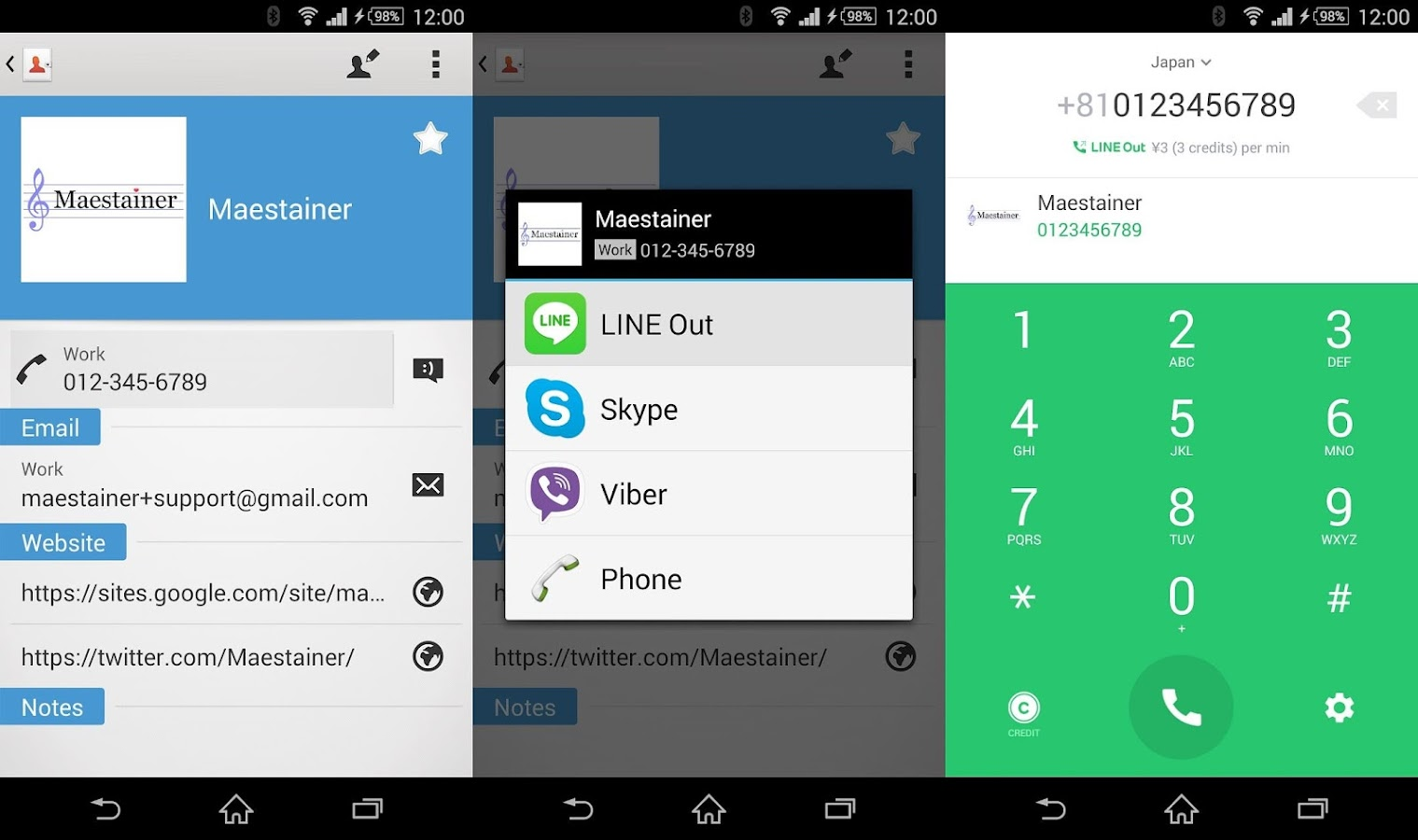 SELECT DIALER - Premium Dialer- screenshot