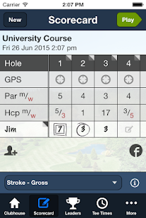 University Golf Club- screenshot thumbnail