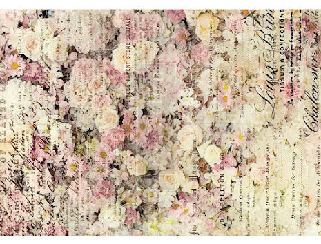 Prima Redesign Rice Paper 11.5X16.25 - Floral & Dream