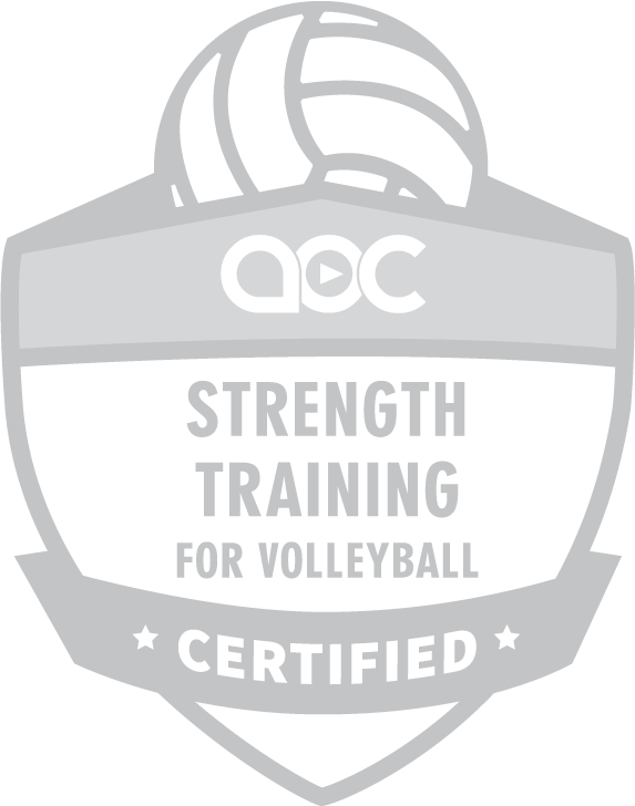 Strength Training for Volleyball Certification