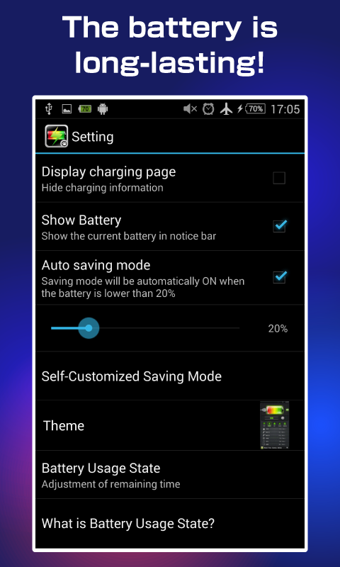 One Touch Battery Saver- screenshot