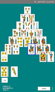 Spanish Pyramid Solitaire - náhled