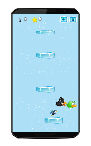 android Pinguin-Kampf springen Screenshot 3