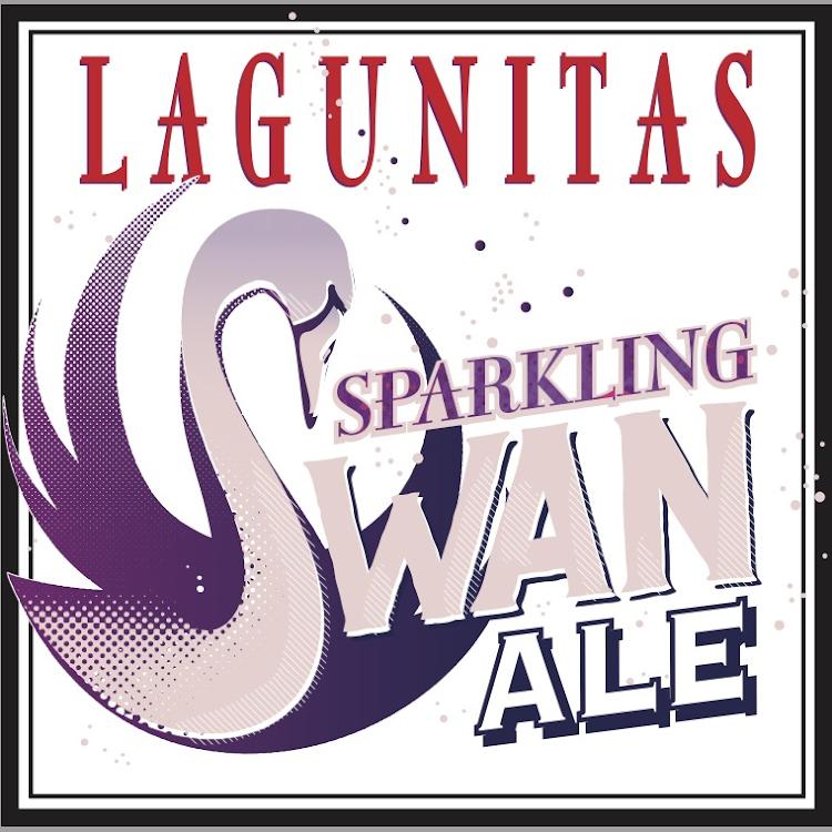 Logo of Lagunitas Sparkling Swan
