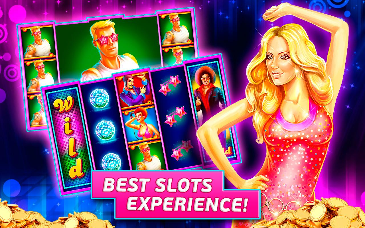Screenshots of Miami Disco Slots Casino for iPhone
