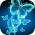 Neon Butterfly Live Wallpaper file APK for Gaming PC/PS3/PS4 Smart TV