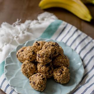 Peanut Butter Choco Chip Banana Bites.