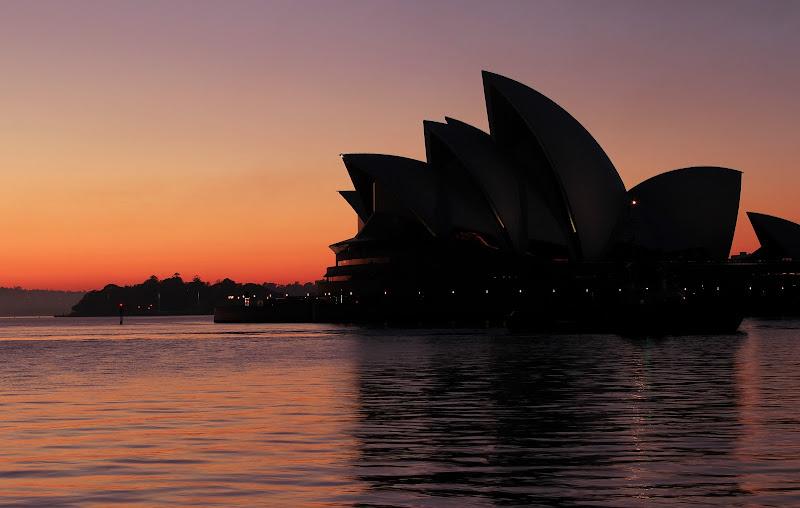 Skyline di Sydney all'alba di ManuelGoWest