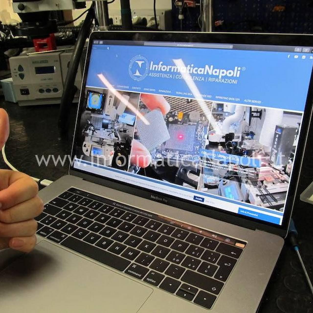 Assistenza Informatica Napoli.Informaticanapoli Reballing Rework Assistenza Apple Mac