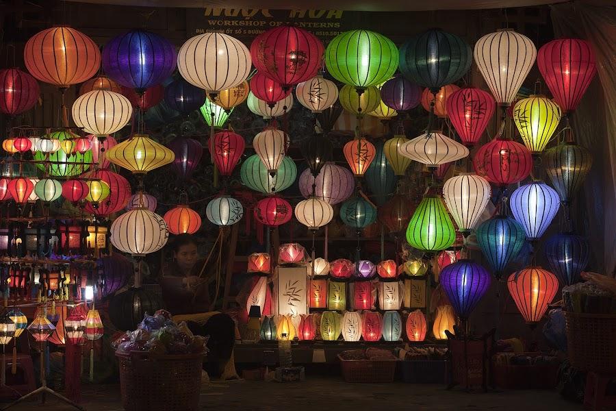 Lanterns from Hoi An by Jack van der Heijden - Landscapes Travel ( vietnam )