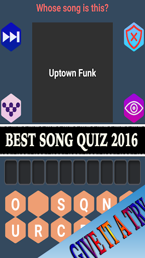 Quiz: Who sings that song
