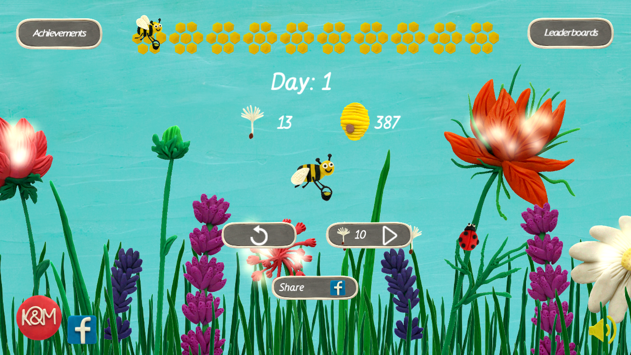 Clay Bee HD- screenshot