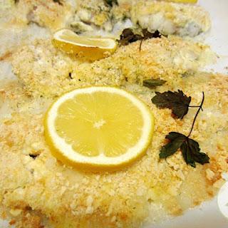 Parmesan Baked Haddock
