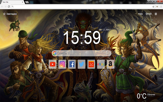 The Legend of Zelda New Tab Wallpapers Themes
