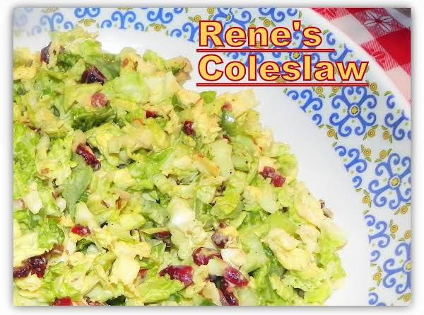Rene's Coleslaw
