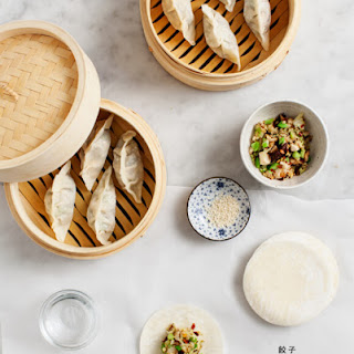 Shiitake & Napa Cabbage Gyoza Recipe