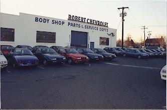 Photo: Robert Chevrolet's old Service exit