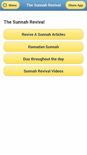 The Sunnah Revival