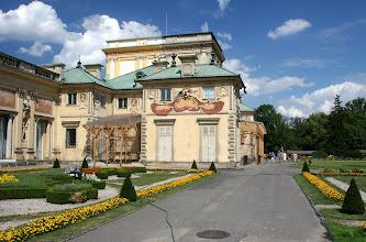 Photo: Warszawa, Wilanow, park i ogrod, Palac 08/2006 fot. Robert Gutowski