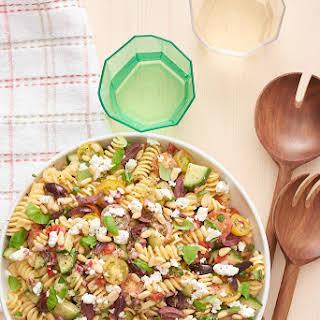 Cold Pasta Salad No Mayo Recipes.