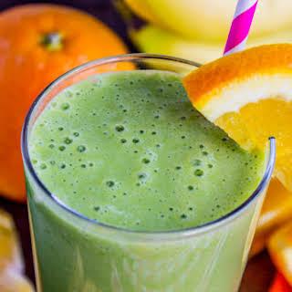 Green Orange Julius Smoothie.