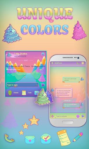 GO SMS Unique Colors