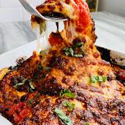 Eggplant Lasagna-No Pasta!