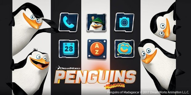 Penguins of Madagascar Undercover Agent Launcher - náhled