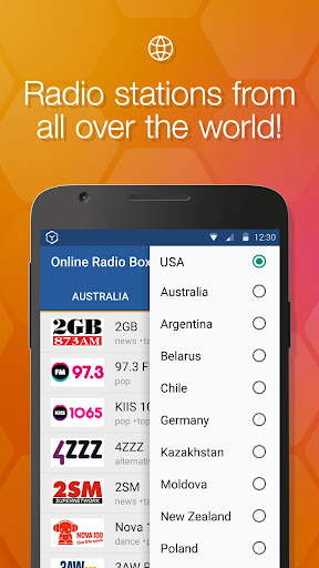 Online Radio Box - free player for PC