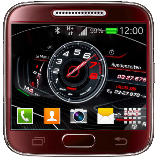Car Dashboard Live Wallpaper Icon