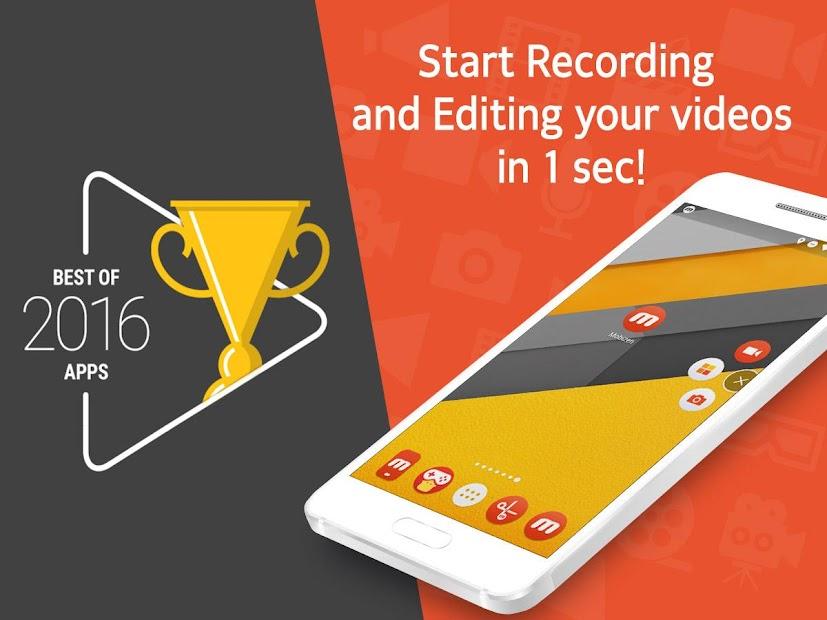 Mobizen Screen Recorder - Record, Capture, Edit Android App Screenshot
