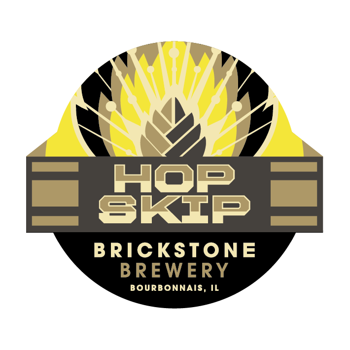 Logo of Brickstone Hop Skip