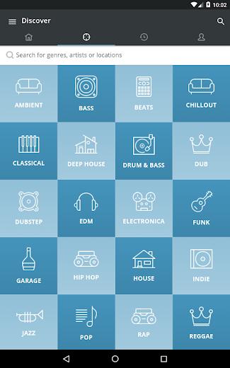 Screenshot 12 for Mixcloud's Android app'